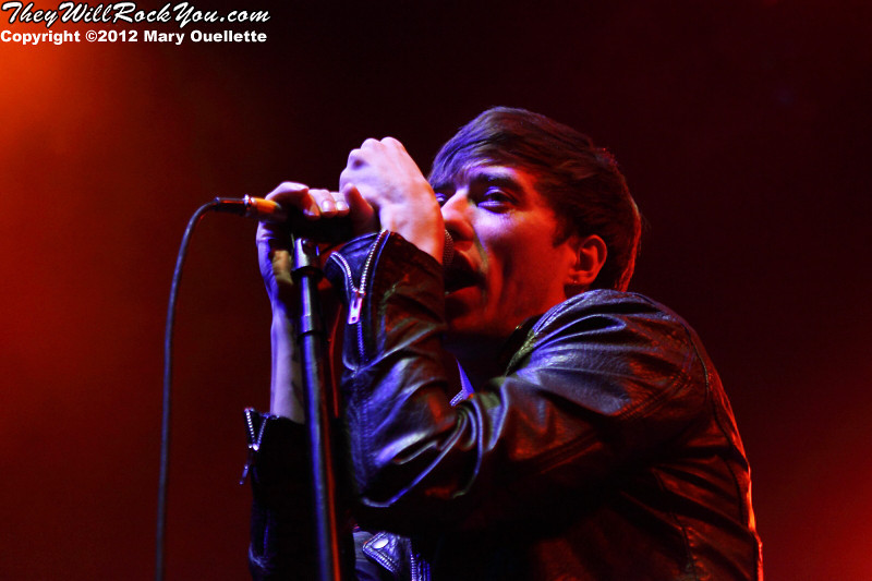 Young Guns perform at the House of Blues in Boston, MA on September 20, 2012