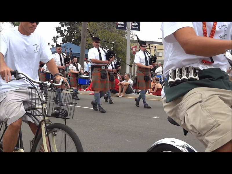 """Part 4b of 6: 2012 Coronado California 4th of July Parade (HiDef)<br /> <br /> All Coronado links at <a href=""""http://crowncity.com"""">http://crowncity.com</a><br /> This  video covers the following entries: <br /> <br /> Coronado Historical Association<br /> House of Scotland Pipe Band San Diego<br /> American Merchant Marine Veterans San Diego Chapter<br /> Coronado Yacht Club Junior Sailing<br /> Hole in the wall gang<br /> Federal Fire Department NAS North Island<br /> Bridge and Bay Garden Club Coronado<br /> Classic Chevys of San Diego<br /> Sons of the American Revolution<br /> Miss San Diego Cities Pageant Kayla Ross<br /> Victorian Roses Ladies Riding Society San Diego<br /> Sacred Heart Parish School America's People<br /> The Prancing Pony San Diego County"""