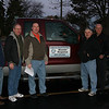 January 27, 2012 - Team leaving from LCC offices Ed Pate, Steve Chester, Tim Kurth, Marty Johnson, Larry Fieldman, Scott Skelly