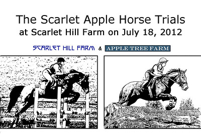 The Scarlet Apple Horse Trials, July 18, 2012