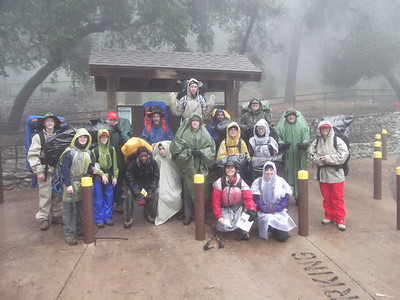 1/21~1/22 Backpack Training Hike @ Hoegee Campground