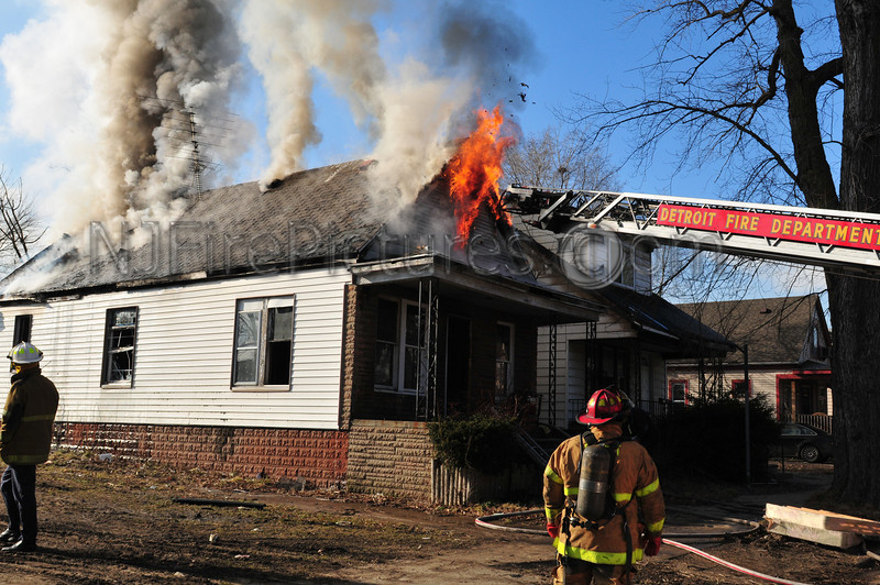 DETROIT MICHIGAN BOX ALARM RATHBONE & SPRINGWELLS FEBRUARY 20, 2012