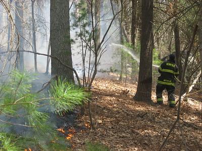 36 Campbell Street, Norfolk - Brush Fire: April 14, 2012