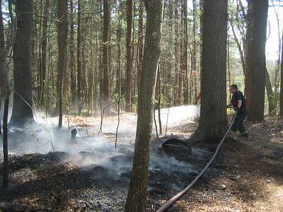 Kilpatrick Way, Norfolk - Brush Fire: April 16, 2012