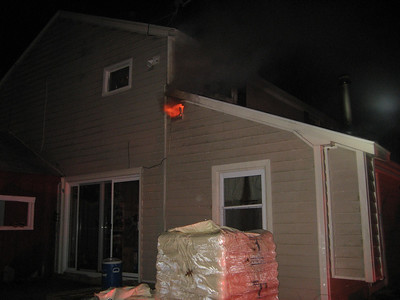 45 Medway Street, Norfolk - Working Fire: February 2, 2012