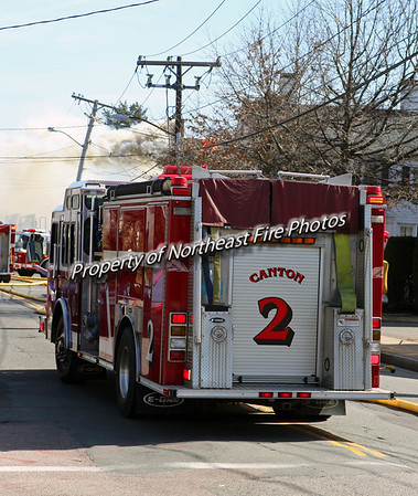 Milton, MA- 3rd Alarm-Adams Street- 3/8/12