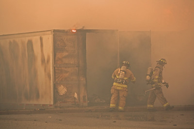 Carlstadt Tractor Trailers Fire Commance Rd. 1-2-12