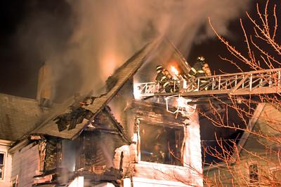 Hasbrouck Heights 3rd alarm Harrison Ave. 12-31-12