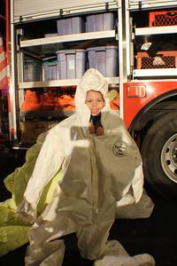 Ridgefield Park Volunteer night out Oct. 2012