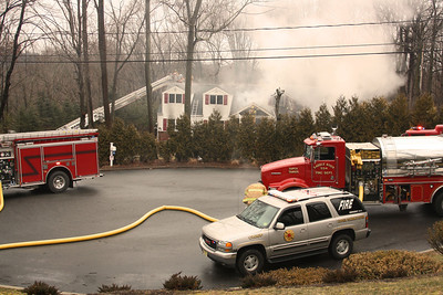 Upper Saddle River 3rd Alarm ‎ Allsberry Road 3-1-12