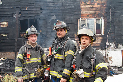 Lt Chris Freeman, F/F's Hrywniak & Suleiman, Passaic Engine Co.2