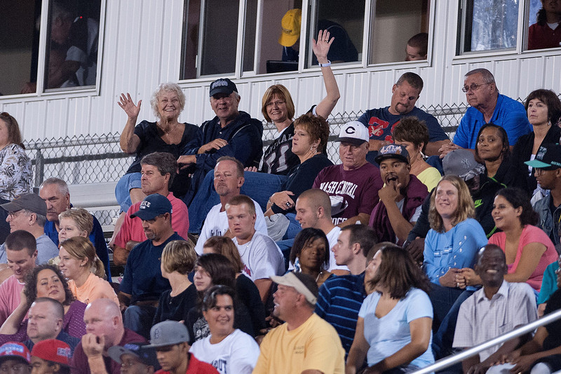 Nash Central Fans during to nights game.Rocky Mount defeats Nash Central 13-6 in Nashville North Carolina.