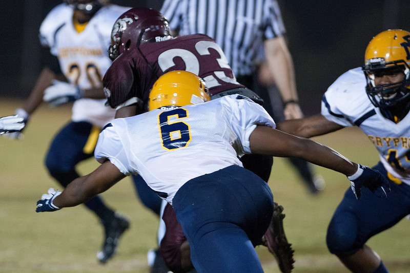 Rocky Mount Channing Green #6  during to nights game.Rocky Mount defeats Nash Central 13-6 in Nashville North Carolina.
