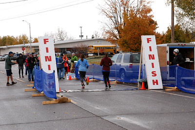 Harvest Half and 5K finish -46