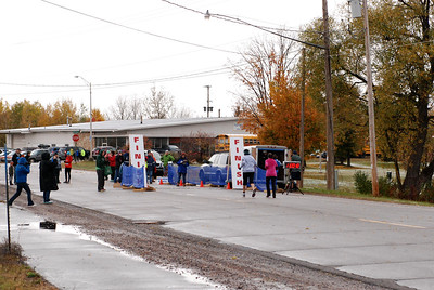 Harvest Half and 5K finish -57