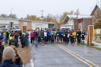 Harvest Half Marathon start and trail run-23
