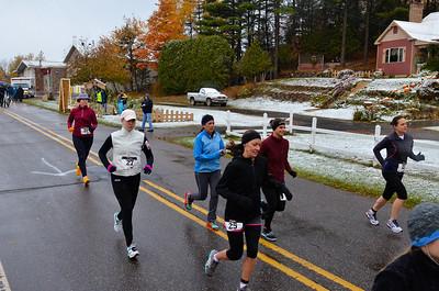 Harvest Half Marathon start and trail run-52