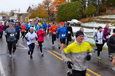 Harvest Half Marathon start and trail run-38