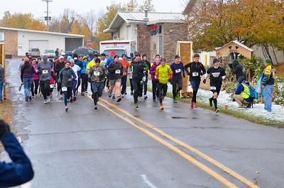 Harvest Half Marathon start and trail run-27