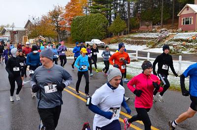 Harvest Half Marathon start and trail run-41
