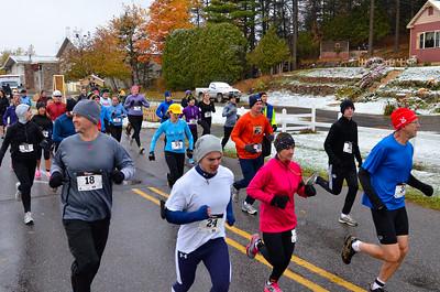 Harvest Half Marathon start and trail run-40