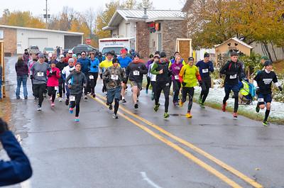 Harvest Half Marathon start and trail run-29