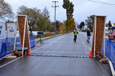 Harvest Half Marathon start and trail run-5