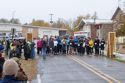 Harvest Half Marathon start and trail run-24