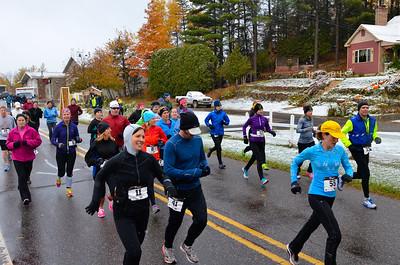 Harvest Half Marathon start and trail run-43