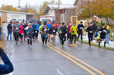 Harvest Half Marathon start and trail run-28