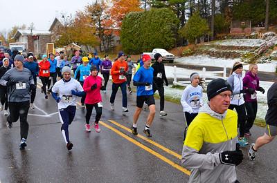 Harvest Half Marathon start and trail run-39