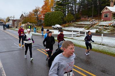 Harvest Half Marathon start and trail run-50