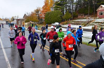 Harvest Half Marathon start and trail run-44