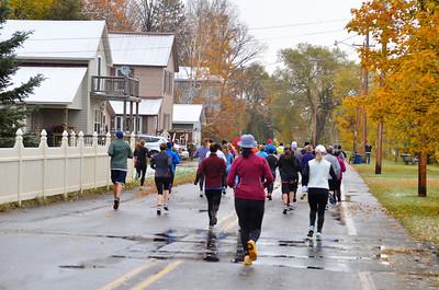 Harvest Half Marathon start and trail run-53