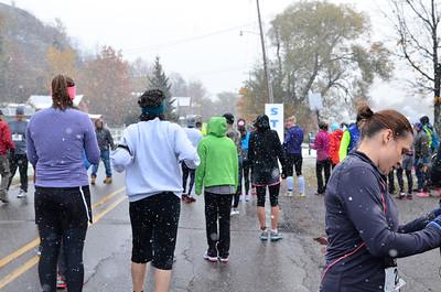 Harvest Half Marathon start and trail run-16