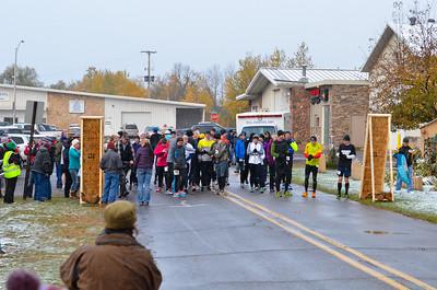 Harvest Half Marathon start and trail run-19