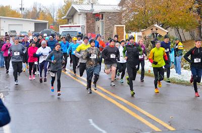 Harvest Half Marathon start and trail run-31