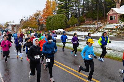 Harvest Half Marathon start and trail run-42
