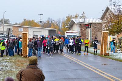 Harvest Half Marathon start and trail run-20