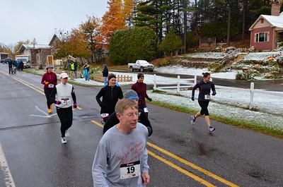 Harvest Half Marathon start and trail run-49