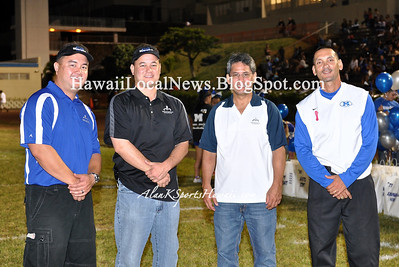 "10-06-12 Moanalua Na Menehune ""vs"" Kahuku Red Raiders Senior Night (JV 7-48 Varsity 15-31)"