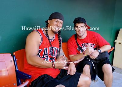 """11-23-12 First Hawaiian Bank/HHSAA D-1 Football Champions """"Kahuku Red Raiders"""" -vs- Punahou (42-20)"""