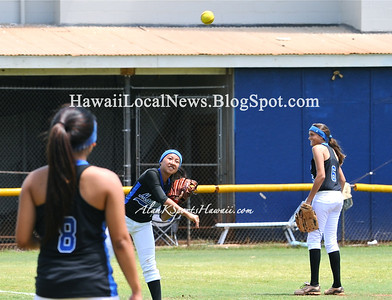 """03-24-12 Kailua HS Varsity Girls Softball """"vs"""" MOHS Game #2 (2-12)"""