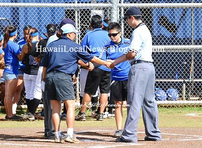 """03-24-12 MOHS Varsity Girls Softball """"vs"""" Kailua Game #1 (3-2)"""
