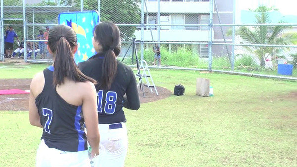 """04-03-12 MOHS Varsity Girls Softball (Senior Night) """"vs"""" Kaiser Cougars (12-0)"""