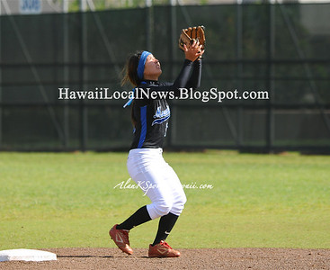 "04-18-12 MOHS Varsity Girls Softball ""vs"" Waianae Seariders (2-4)"