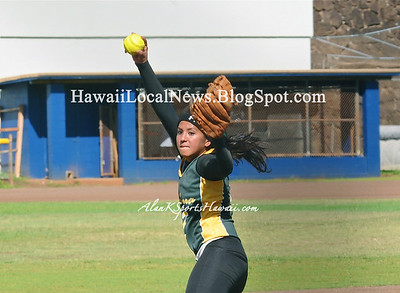 """04-19-12 MOHS Varsity Girls Softball """"vs"""" Leilehua (3-0)"""