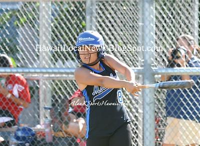"MOHS Varsity Girls Softball ""vs"" Kalani HS (11-1)"