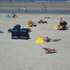 Beach Chairs and Wind Shields