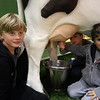 Noa and Tao Milking